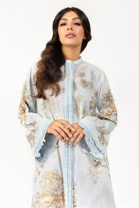 Screen Printed Cotton Shirt - GLS-21-77