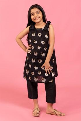 Embroidered Khaddar Shirt GLW-20-68 KIDS