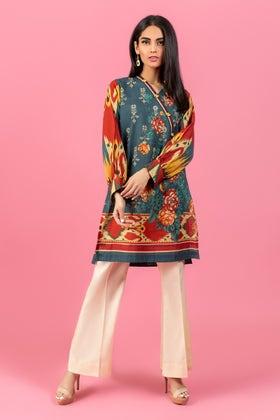 Digital Printed Khaddar Shirt GLW-20-91 DP