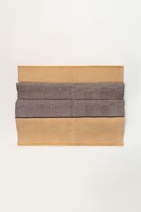 Gold Yarn Dyed Rug