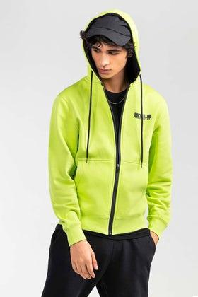 Green Fashion Hoodie JKT-HZJ-D48-03