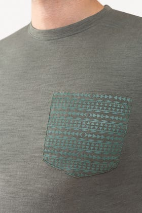 Grey Basic T-shirt JCN-SP-03