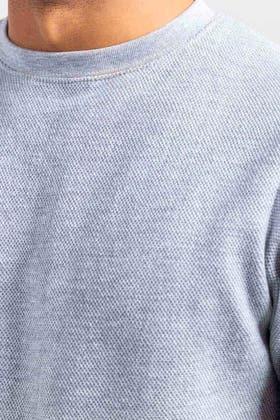 Grey Fashion Sweatshirt JKT-MSS-D28-01