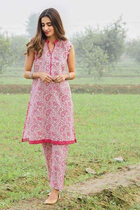 1PC Unstitched Printed Lawn Fabric SL-894 A