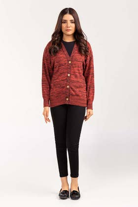 Cotton Button Down Cardigan SWT-FW21-002