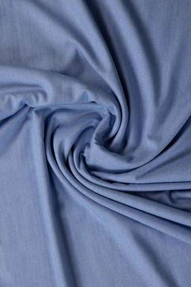 Blue Unstitched Fabric Opus Desire