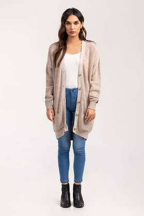 Cotton Button Down Cardigan SWT-FW21-001