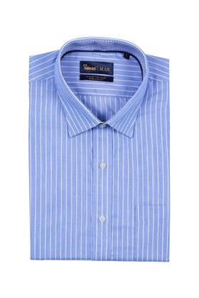 Blue Half Sleeves Shirt CVC-YD-402