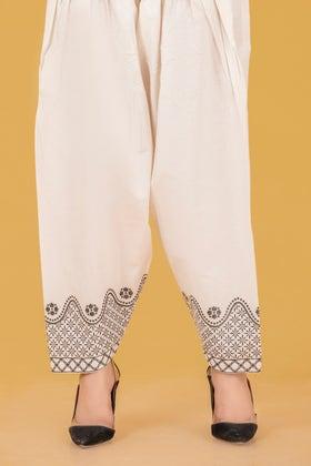 Glitter Cambric Shalwar WGK-TRS-DY-54