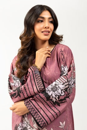 Screen Printed Lawn Shirt With Dupatta IPS-21-03 2PC