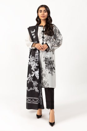 Screen Printed Lawn Shirt With Dupatta IPS-21-07 2PC