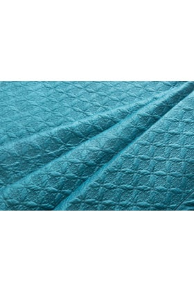 Blue Java T-400 Embroidered Bed Throw