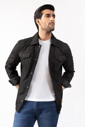 Black Jacket JKT-LETH-D31-01