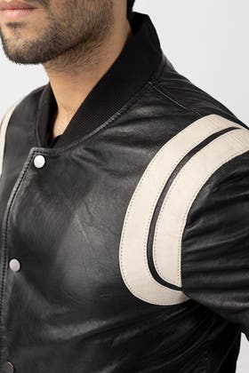 Black Jacket JKT-LETH-D32-01