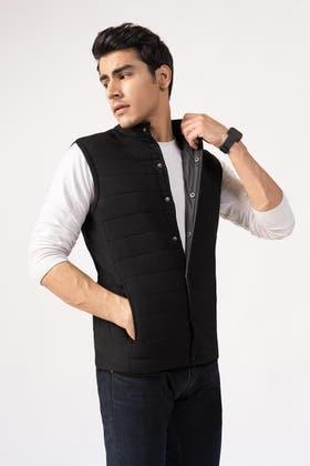 Black Vest Jacket JKT-MNV-D23-01