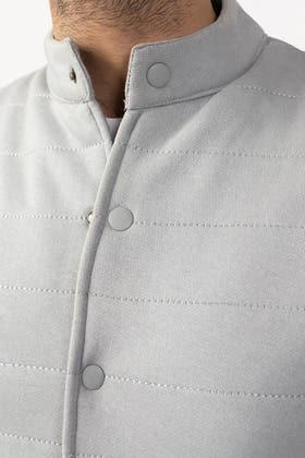 Grey Sleeveless Jacket JKT-MNV-D23-02