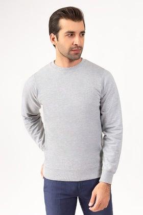 Ash Grey Sweat Shirt JKT-MSS-17-01