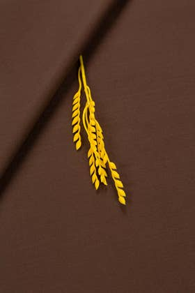 Brown Gul 900 (Murcury)-GW Unstitched Fabric