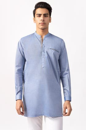 Blue Fashion Kurta KS-781