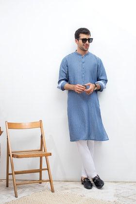 Blue Fashion Kurta KS-810