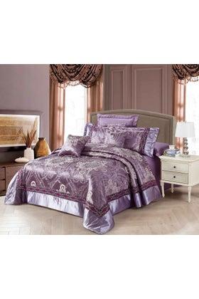 LAVENDER MIST Jacquard Bedspread Set
