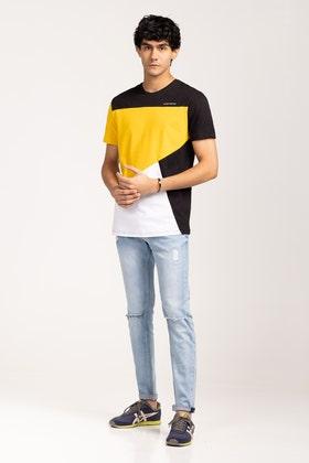 Lemon-Black Urban T-Shirt JCN-URB-D05