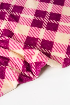 AW21-MAGENTA Single Ply Fleece