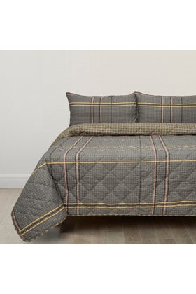 Miller Plaid T-150 Bed Throw