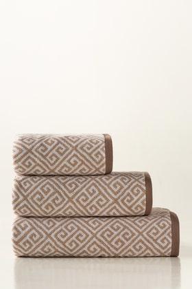 Mud Jacquard Yarn Dyed Towel