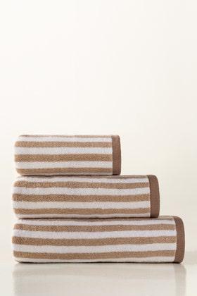 Mud Stripe Yarn Dyed Towel