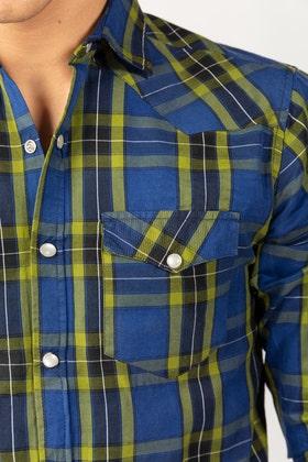Multi Color Checkered Casual Shirt CM-YD-2856 CS