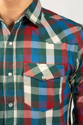 Multi Color Checkered Casual Shirt CM-YD-2857 CS