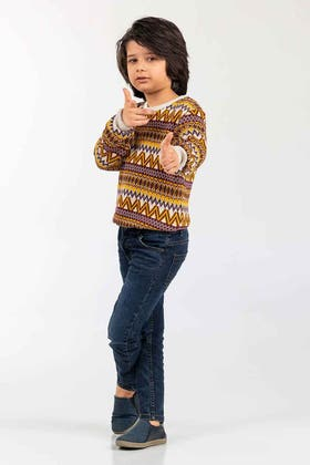 Multi Color Fashion Sweater FS-KIDS-SWT-FD-31-01