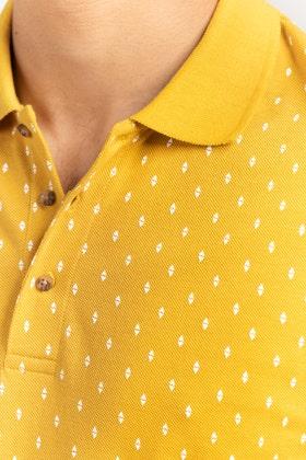 Mustard Polo PKP-PRINT-07-02