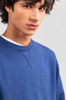 Navy Fashion Sweatshirt JKT-MSS-D27-02