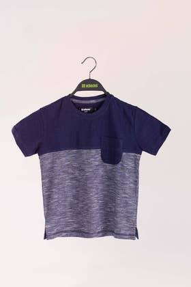 Navy Fashion T-Shirt KIDS-JGP-D01-02