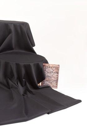 Black Unstitched Fabric  NAYAB GF-03