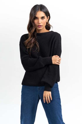 Cotton Crew Neck Pull Over Sweater  SWT-FW21-038