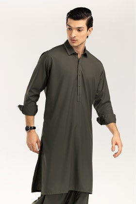 Dark Olive Styling Suit SKS-284