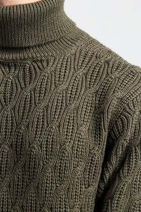Olive Fashion Sweater FS-SWT-ACR-FD-431-01