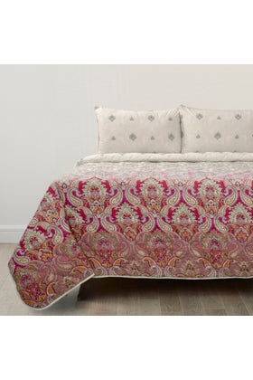 Paisley Delight T-150 Bed Throw