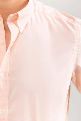 Peach Smart Casual Shirt CM-YD-2907 SC