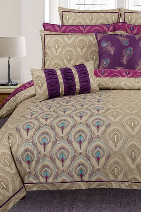 Peacock T-200 Quilt Cover Set