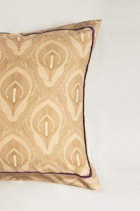 Peacock T-200 Euro Sham Cushion Cover
