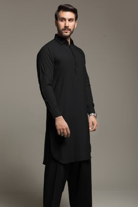 Black Unstitched Fabric Hi Tex-NI