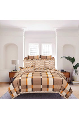 Quad Shell T-150 Bed Throw