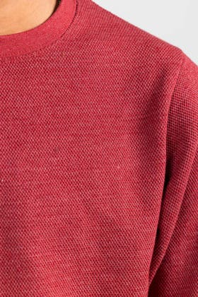Red Fashion Sweatshirt JKT-MSS-D28-02