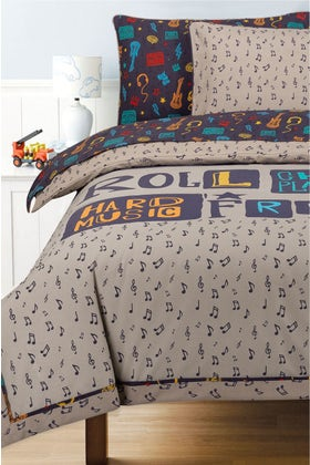 Rock&Roll T-150 Bed Throw