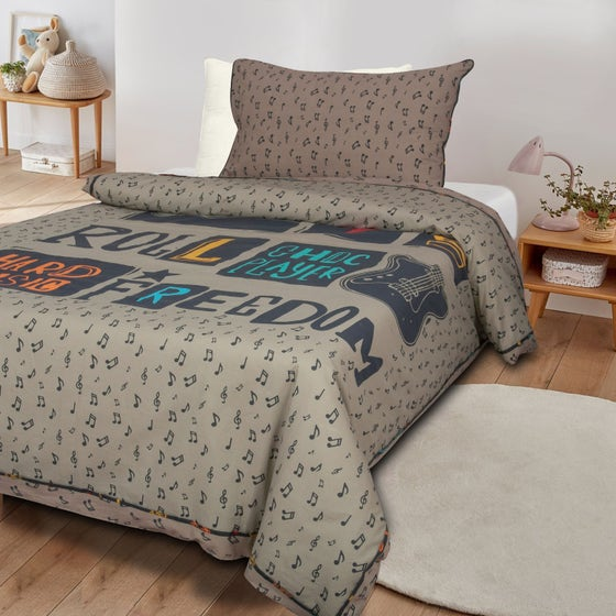 Rock&Roll T-150 Quilt Cover Set