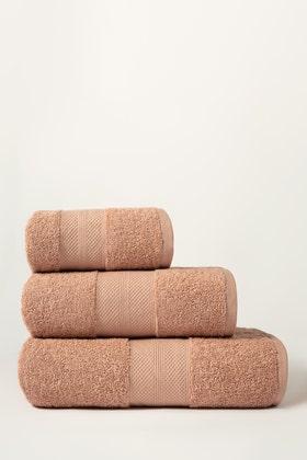 Rose Combed Towel Plain